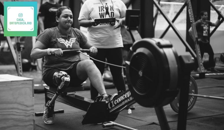 A nossa embaixadora @lilianacosta é atleta do crossfit e está se preparando para avançar nos esportes.  Acompanhe no nosso Instagran @casa_ortopedica_rio