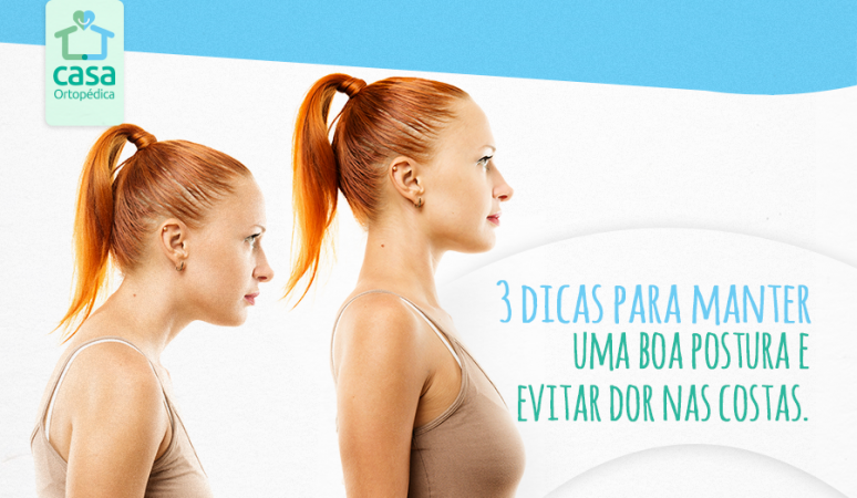 Dicas para manter uma boa postura e evitar dor nas costas