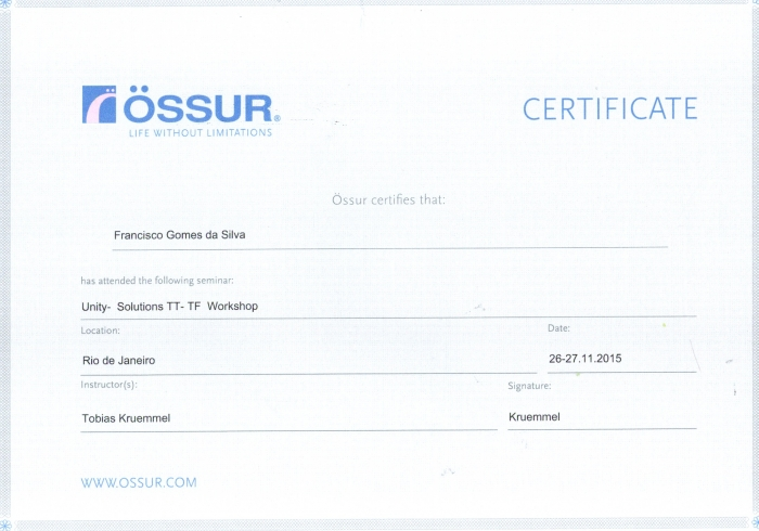 Unity Solutions - Ossur