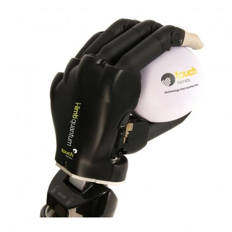 Mão biônica - Touch Bionics - I-Limb Quantum - Ossür